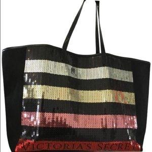 Victoria Secret Striped Sequin NWT